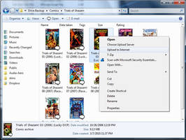 Upload to Server Context Menu by SuprVillain