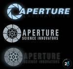 Portal 2 Logo Walls + Elements