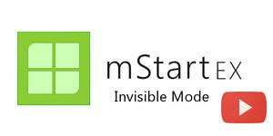 mStartEX - Invisible Mode