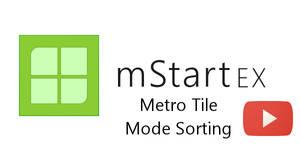 mStartEX - Tile Mode Video Demo