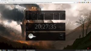 NewTab Desktop + Weather