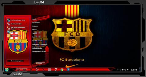 Thema windows7 Barcelona