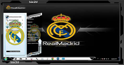 Tema windows 7 Real Madrid