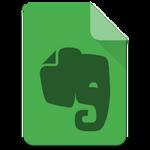 Material Design Evernote Icon