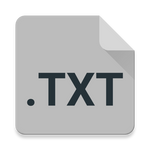Material Design Text Editor Icon 2 (darker)