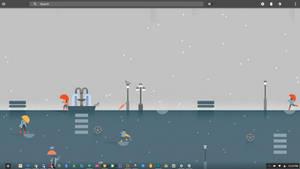Rainmeter - Material Desktop 0.2 WIP