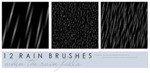 Rain Brushes for Icons