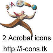 Adobe Acrobat Logo Icon by mmr85