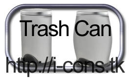 Trash Can 2 Icons