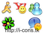 Chat Clients Icons