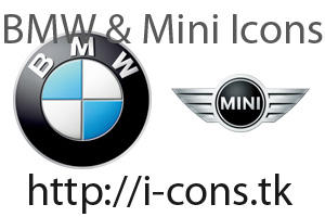 BMW and Mini Icons by mmr85