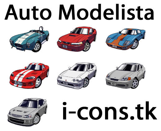 Auto Modelista Icons by mmr85
