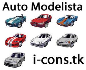 Auto Modelista Icons