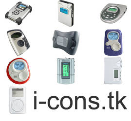 MP3 Players Icons