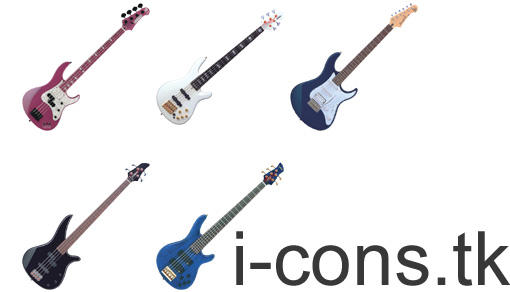 Guitar Icons by mmr85