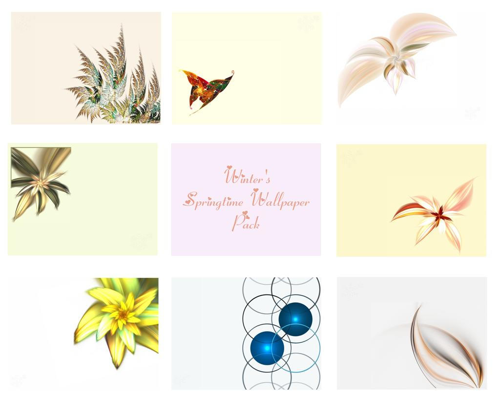 Winter's Springtime WP Pack by NatalieKelsey