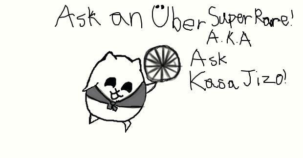 Ask Kasa Jizo! by Acester-The-Speeder