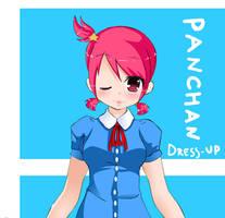 Pan-Chan Dress up by Rainbowshi