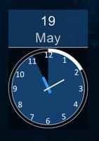 Inspector Spacetime clock and date - Rainmeter by alias-kanas