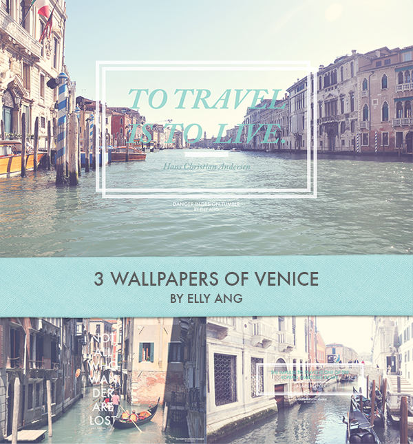 Venice Wallpaper Set by angelelly93