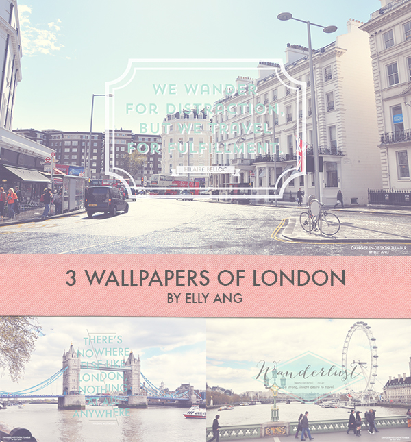 London Wallpaper Set by angelelly93