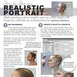 Step by Step of a Realistic Portrait (Tink) by lithriel