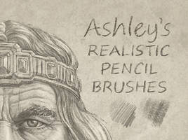 Pencil Brush Set by Ashley Walters