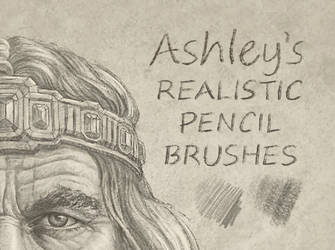 Pencil Brush Set by Ashley Walters