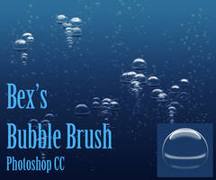 Underwater Bubbles Brush for Photoshop
