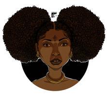 Afro-inks lighting study