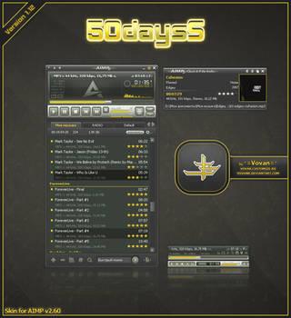 50daysS v.1.12 for AIMP v.2.60 by VovanR