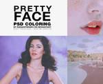Pretty Face / Psd Coloring