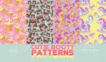 Cutie Booty Patterns by RADIANTWH0R3