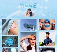 Tired Blue Boy (pack de imagenes azulitas) by RADIANTWH0R3