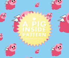 A Pig Inside // Patterns by RADIANTWH0R3