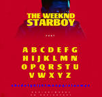 The Weeknd - Starboy / Font