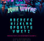 Lady Gaga - John Wayne / Font