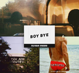 Boy Bye // Psd Coloring by RADIANTWH0R3