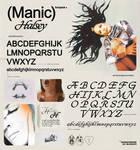 Halsey - Manic / Fonts