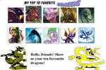 Favorite Dragons Meme