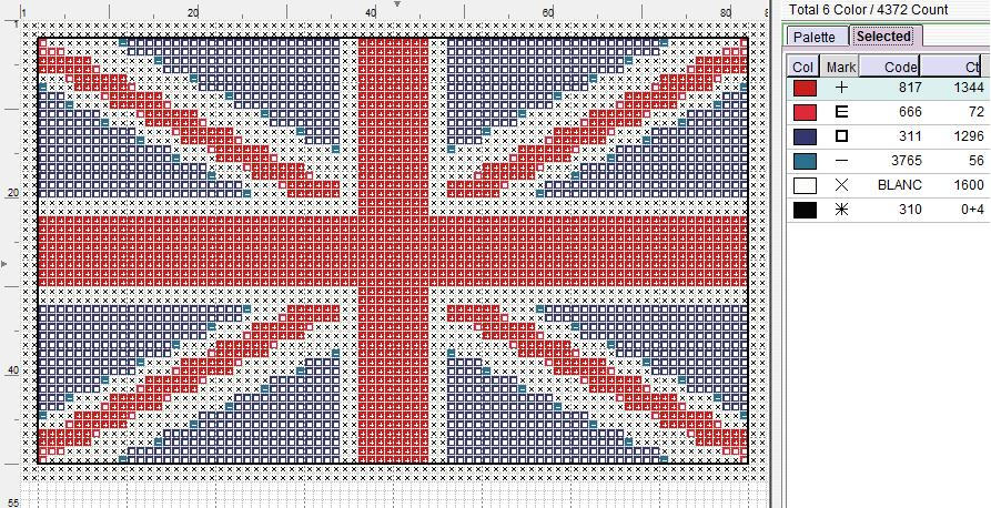 Union Jack Pattern by puppyrock3