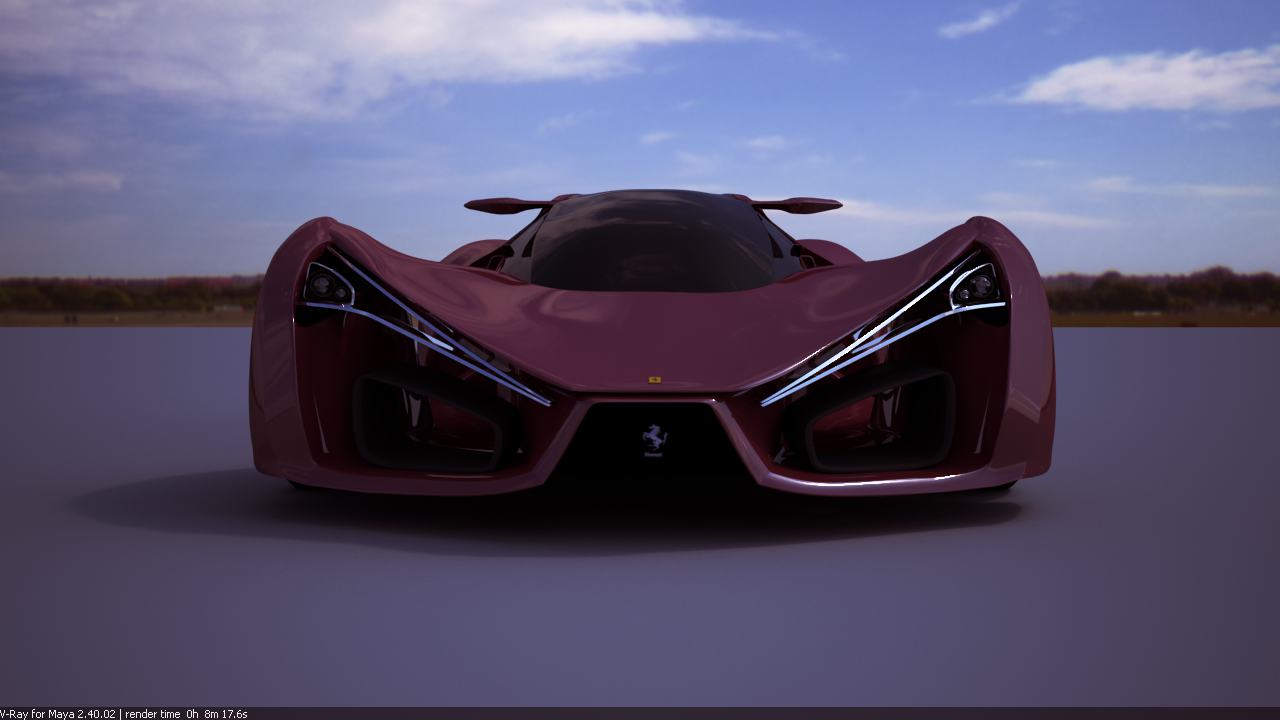 Ferrari F80 Concept Car Red By Selsdon20 On Deviantart