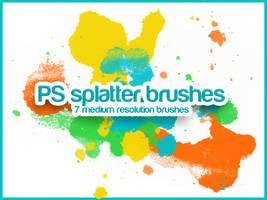 Splatter Brushes