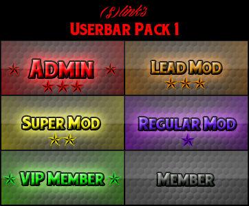 Userbar Pack 1