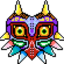 Majora mask! Free cursor by Ask-BEN-DR0WNED