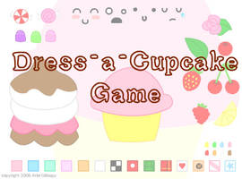 Dress-a-Cupcake Game by cuteordeath