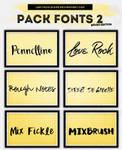 PackFonts2: Brush