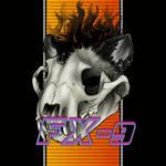 Hotline miami ferret skull animated icon
