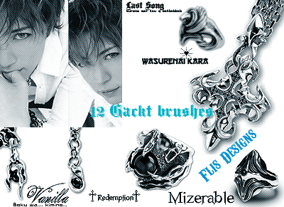 Gackt Brushes by flisdesigns