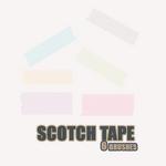 scotch tape brushes